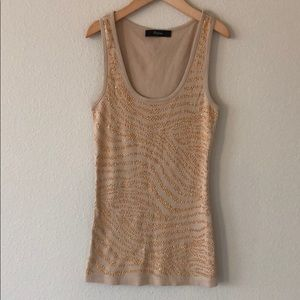 Express tank with gold bling